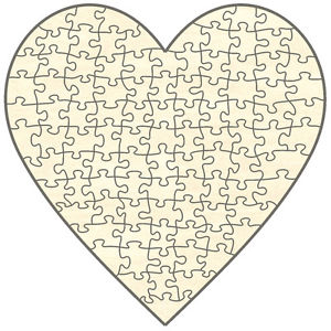 Puzzel Herz
